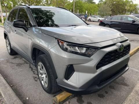 2019 Toyota RAV4 for sale at DORAL HYUNDAI in Doral FL