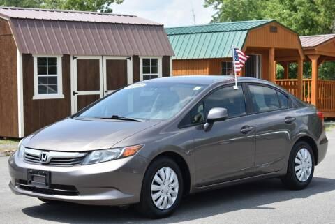 2012 Honda Civic for sale at GREENPORT AUTO in Hudson NY