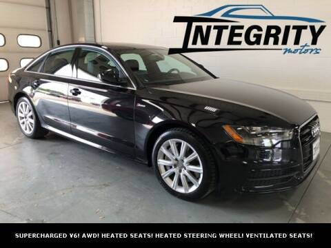 2013 Audi A6 for sale at Integrity Motors, Inc. in Fond Du Lac WI