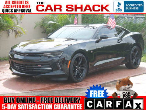 2017 Chevrolet Camaro for sale at The Car Shack in Hialeah FL