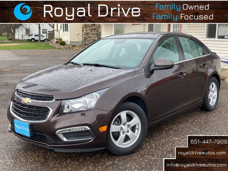 2015 Chevrolet Cruze for sale at Royal Drive in Newport MN