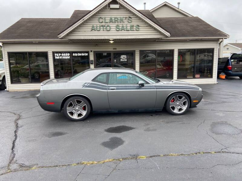 2012 Dodge Challenger for sale at Clarks Auto Sales in Middletown OH
