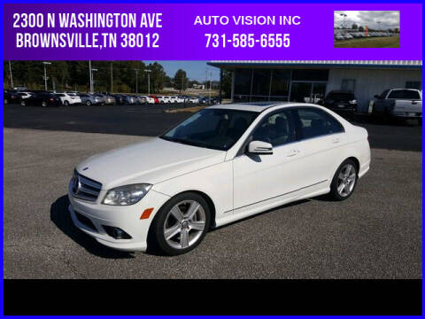 2010 Mercedes-Benz C-Class for sale at Auto Vision Inc. in Brownsville TN