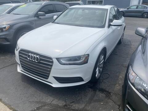 2013 Audi A4 for sale at CLASSIC MOTOR CARS in West Allis WI