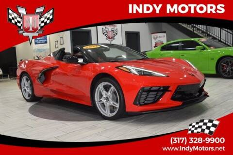 2021 Chevrolet Corvette for sale at Indy Motors Inc in Indianapolis IN
