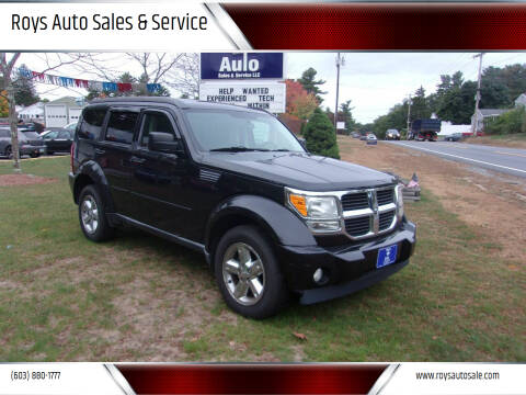 2008 Dodge Nitro for sale at Roys Auto Sales & Service in Hudson NH