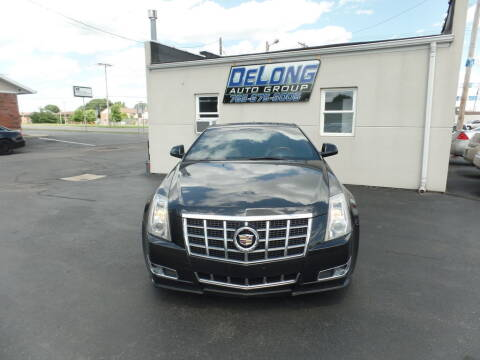2012 Cadillac CTS for sale at DeLong Auto Group in Tipton IN