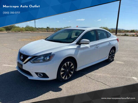 2017 Nissan Sentra for sale at Maricopa Auto Outlet in Maricopa AZ