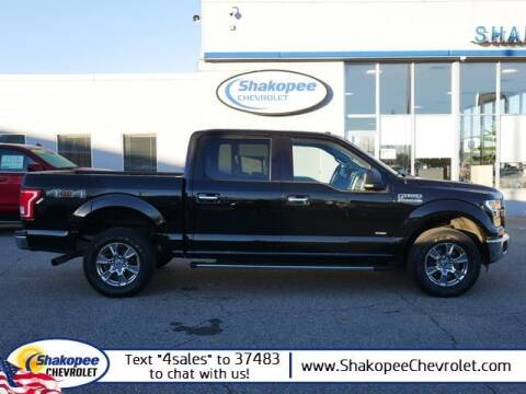 2016 Ford F-150 for sale at SHAKOPEE CHEVROLET in Shakopee MN