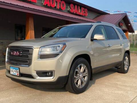 2015 GMC Acadia for sale at Affordable Auto Sales in Cambridge MN