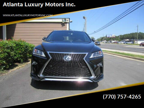 2017 Lexus RX 350 for sale at Atlanta Luxury Motors Inc. in Buford GA