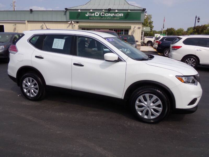 2016 Nissan Rogue for sale at Jim O'Connor Select Auto in Oconomowoc WI