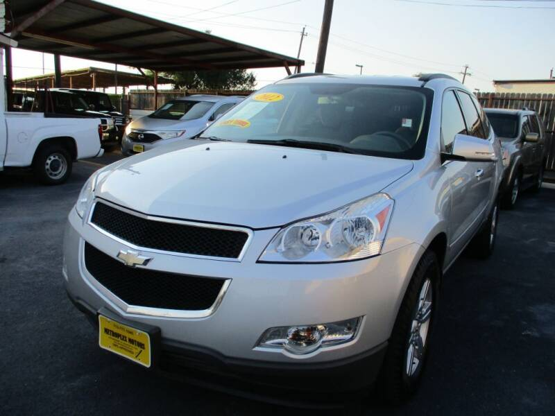 2012 Chevrolet Traverse for sale at Metroplex Motors Inc. in Houston TX