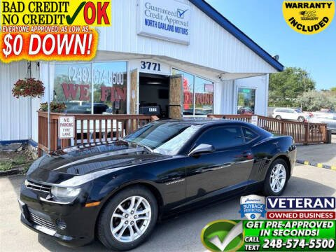 2014 Chevrolet Camaro for sale at North Oakland Motors in Waterford MI
