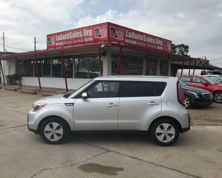 2015 Kia Soul for sale at LA Auto Sales in Monroe LA