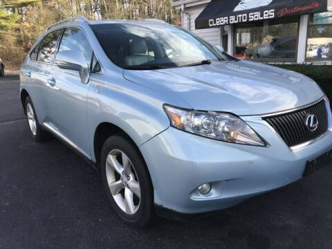 2010 Lexus RX 350 for sale at Clear Auto Sales 2 in Dartmouth MA