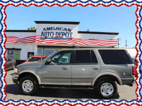 1999 Ford Expedition for sale at American Auto Depot in Modesto CA