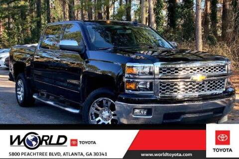 2015 Chevrolet Silverado 1500 for sale at CU Carfinders in Norcross GA