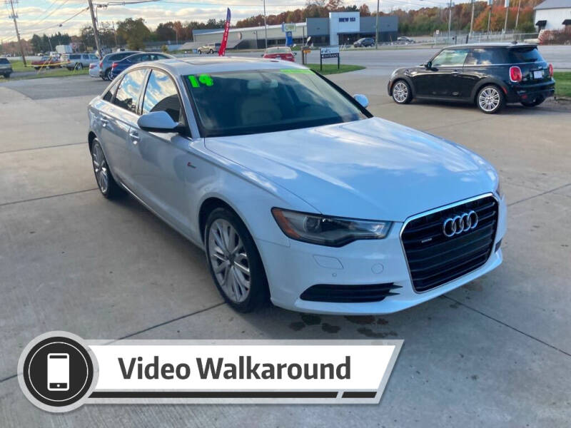 2014 Audi A6 for sale at Auto Import Specialist LLC in South Bend IN