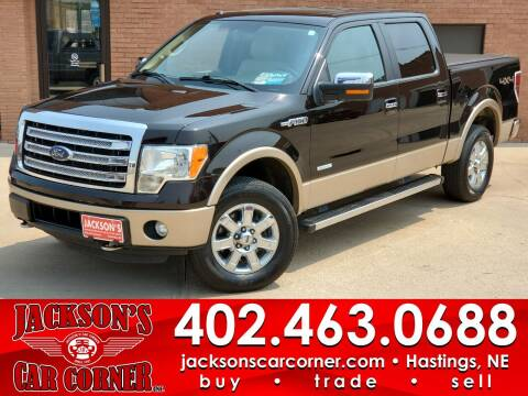 2014 Ford F-150 for sale at Jacksons Car Corner Inc in Hastings NE