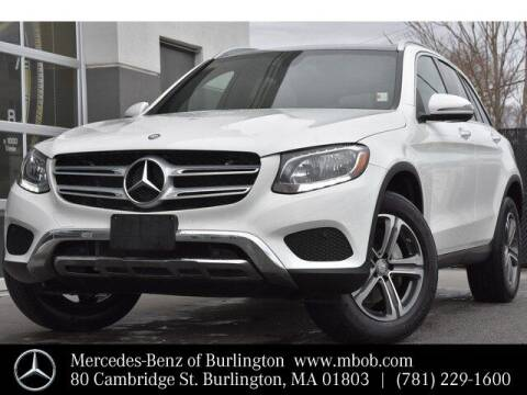 2017 Mercedes-Benz GLC for sale at Mercedes Benz of Burlington in Burlington MA