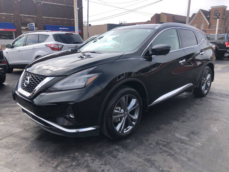 2019 Nissan Murano for sale at N & J Auto Sales in Warsaw IN