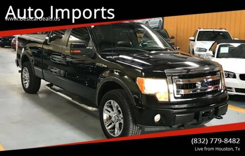 2009 Ford F-150 for sale at Auto Imports in Houston TX