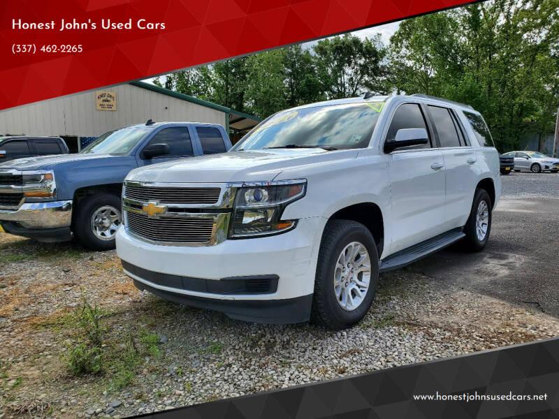 2015 Chevrolet Tahoe for sale at Honest John's Used Cars in Deridder LA