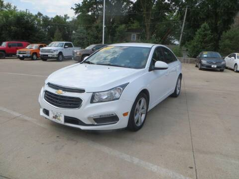 2015 Chevrolet Cruze for sale at Aztec Motors in Des Moines IA
