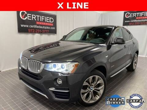 2018 BMW X4 for sale at CERTIFIED AUTOPLEX INC in Dallas TX