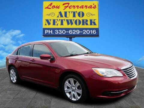 2013 Chrysler 200 for sale at Lou Ferraras Auto Network in Youngstown OH