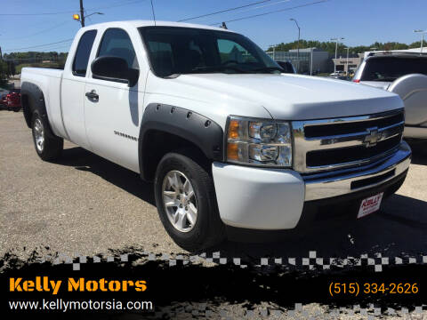 2009 Chevrolet Silverado 1500 for sale at Kelly Motors in Johnston IA