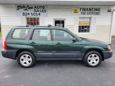 2003 Subaru Forester for sale at STATE LINE AUTO SALES in New Church VA