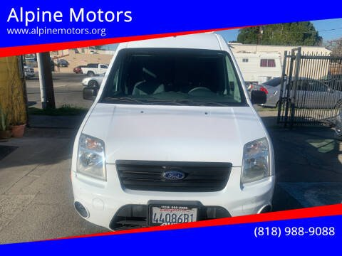 2011 Ford Transit Connect for sale at Alpine Motors in Van Nuys CA