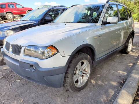 2005 BMW X3 for sale at M.D.V. INTERNATIONAL AUTO CORP in Fort Lauderdale FL