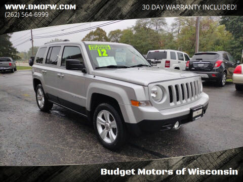 2012 Jeep Patriot for sale at Budget Motors of Wisconsin in Racine WI