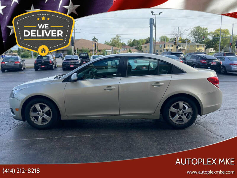 2013 Chevrolet Cruze for sale at Autoplex MKE in Milwaukee WI
