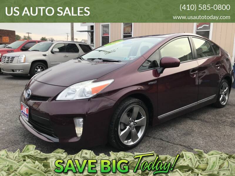 2013 Toyota Prius for sale at US AUTO SALES in Baltimore MD