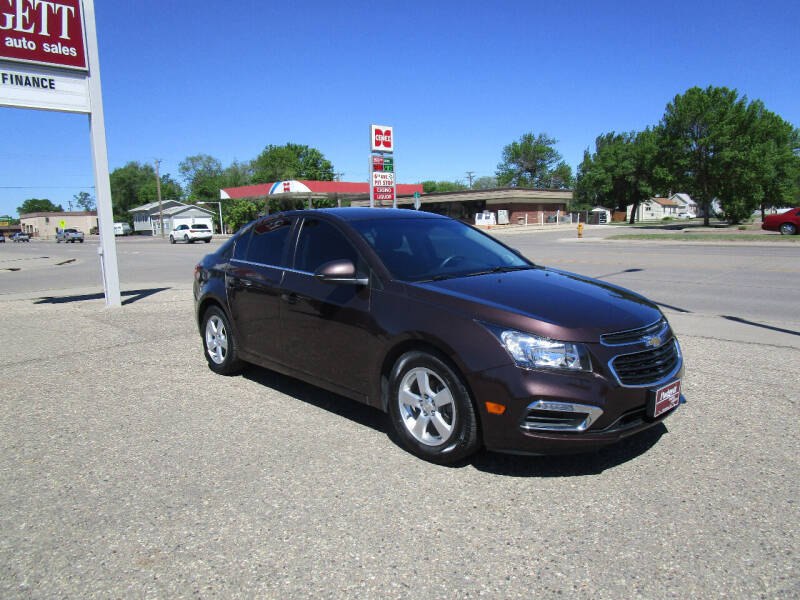 2015 Chevrolet Cruze for sale at Padgett Auto Sales in Aberdeen SD