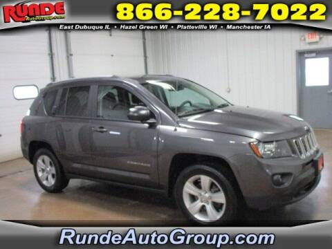 2016 Jeep Compass for sale at Runde PreDriven in Hazel Green WI
