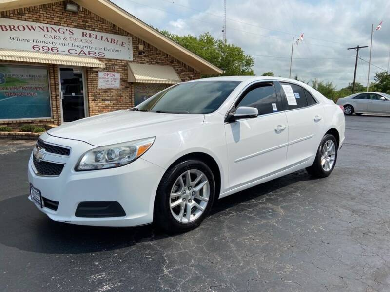2013 Chevrolet Malibu for sale at Browning's Reliable Cars & Trucks in Wichita Falls TX