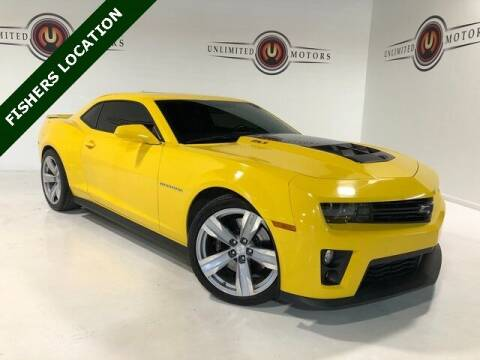 2013 Chevrolet Camaro for sale at Unlimited Motors in Fishers IN