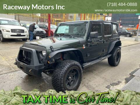 2011 Jeep Wrangler Unlimited for sale at Raceway Motors Inc in Brooklyn NY