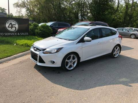 2013 Ford Focus for sale at Station 45 Auto Sales Inc in Allendale MI