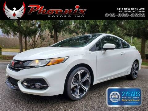 2015 Honda Civic for sale at Phoenix Motors Inc in Raleigh NC