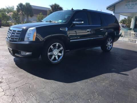 2010 Cadillac Escalade ESV for sale at CAR-RIGHT AUTO SALES INC in Naples FL