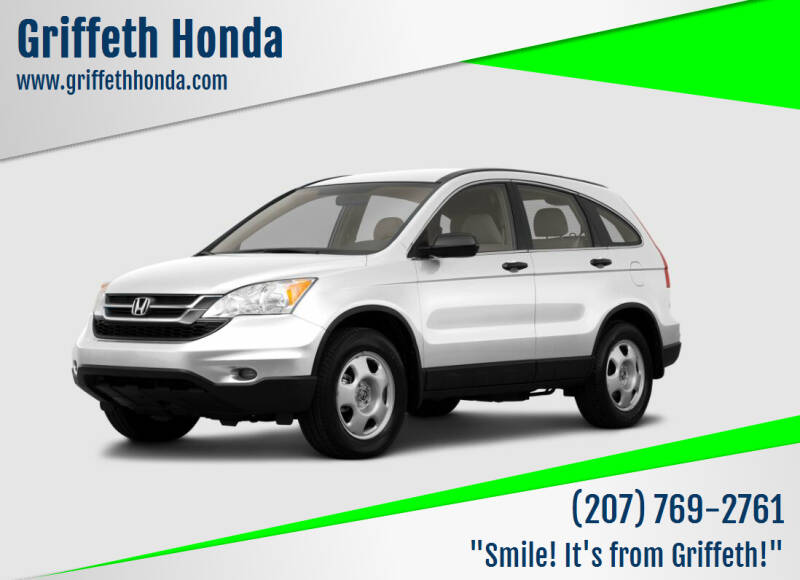2011 Honda CR-V for sale at Griffeth Honda - Pre Owned in Presque Isle ME