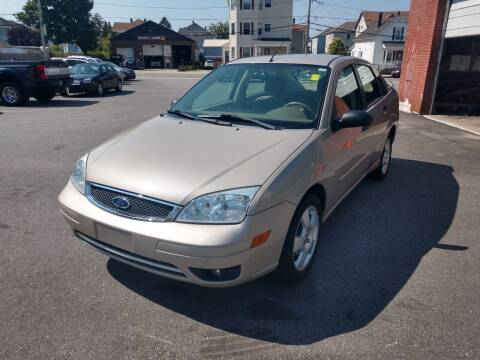 2006 Ford Focus for sale at A J Auto Sales in Fall River MA