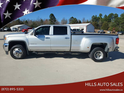 2015 GMC Sierra 3500HD for sale at Hills Auto Sales in Salem AR