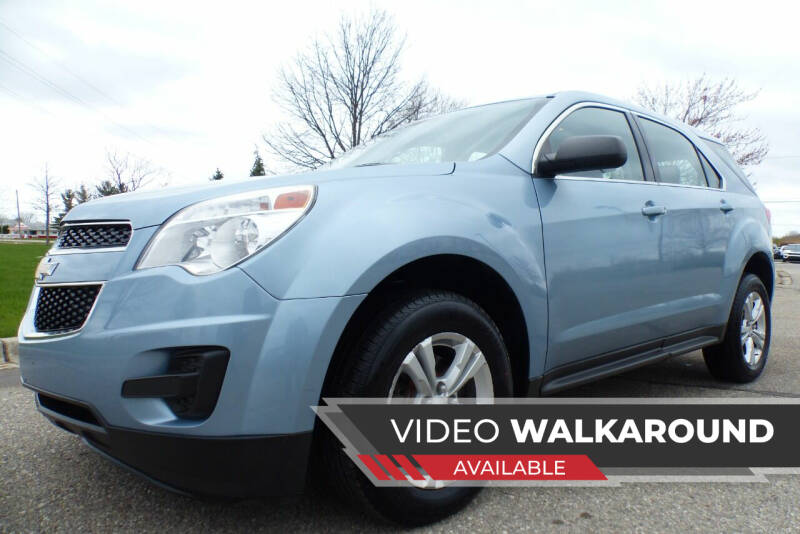 2015 Chevrolet Equinox for sale at Macomb Automotive Group in New Haven MI
